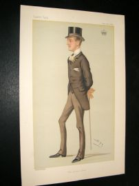 Vanity Fair Print 1880 Earl of Shreswbury & Talbot